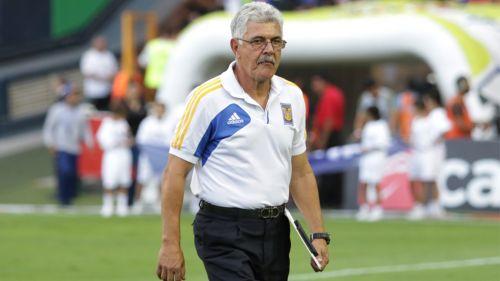 Ricardo Ferretti, tras un partido de Tigres en el A2018