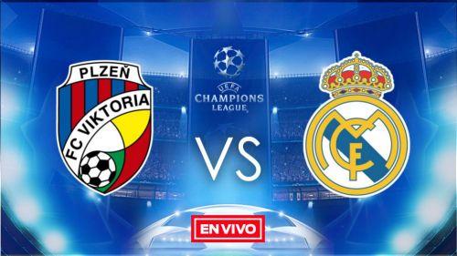 EN VIVO y EN DIRECTO: Viktoria Plzen vs Real Madrid