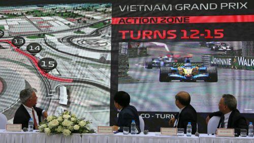 Conferencia de prensa del Gran Premio de Vietnam