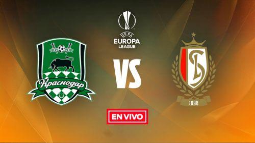 EN VIVO y EN DIRECTO: Krasnodar vs Standard Lieja