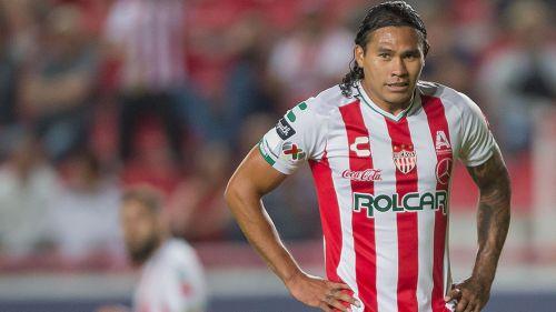 Gullit, en juego del Necaxa en el Apertura 2018