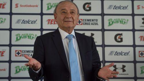 Álvarez, durante una conferencia de prensa en La Noria