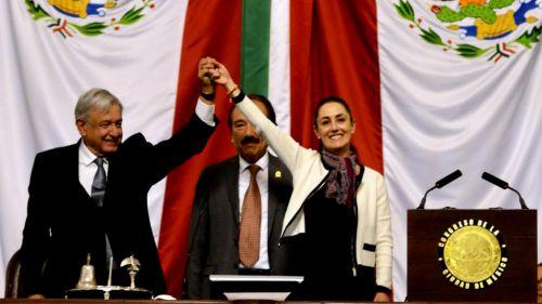 Claudia Sheinbaum, tras la toma de protesta como Jefa de Gobierno de la CDMX