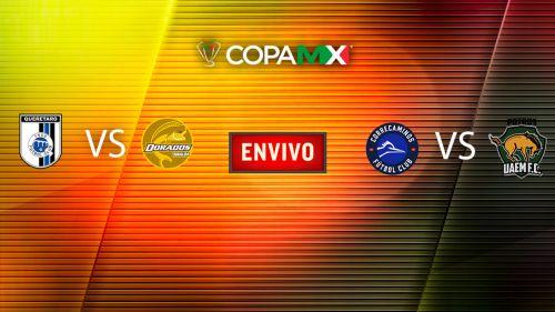EN VIVO y EN DIRECTO: Copa MX J2 Miércoles