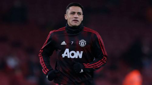 Alexis Sánchez, previo a un duelo con el Manchester United