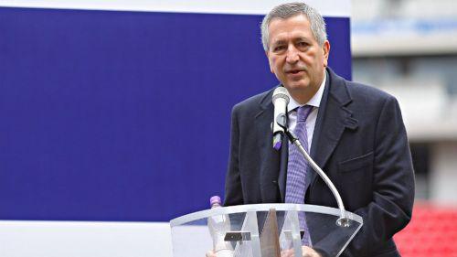 Jorge Vergara durante un evento