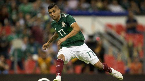 Jesús Manuel Corona durante un juego de México