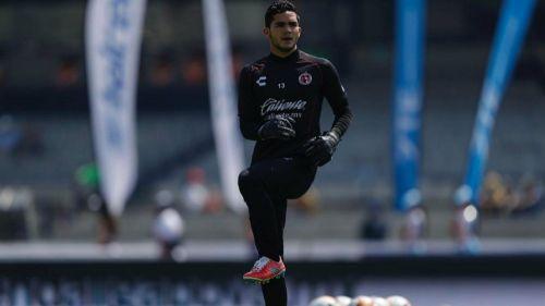 Carlos Higuera, en calentamiento en CU