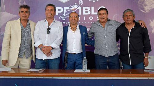 Presentación del juego de homenaje a Pablo Larios