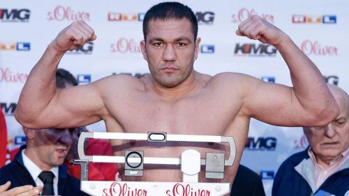 Kubrat Pulev, durante la ceremonia de pesaje