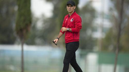 Rafa Márquez, en entrenamiento de Atlas