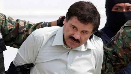 Chapo Guzmán al ser detenido