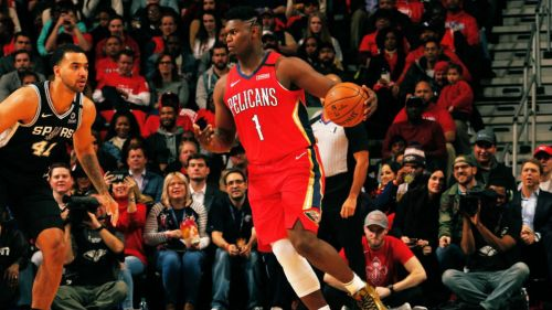Zion Williamson en su debut con los Pelicans