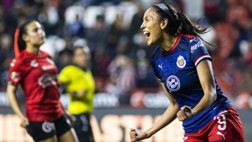 Chivas Femenil aprovechó errores de Tijuana para golearlo a domicilio
