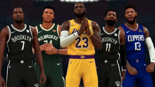 Se transmitirán partidos de NBA 2K