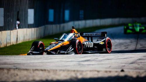 El piloto mexicano de McLaren Patricio O'Ward