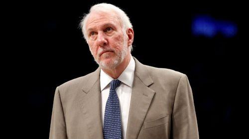 NBA: Gregg Popovich, entrenador de San Antonio
