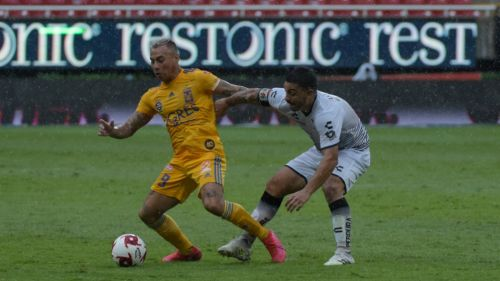 Atlas y Tigres empataron a dos en la Copa por México