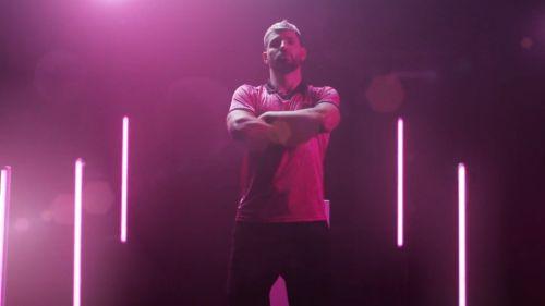 Sergio 'Kun' Agüero en el anuncio de KRÜ esports