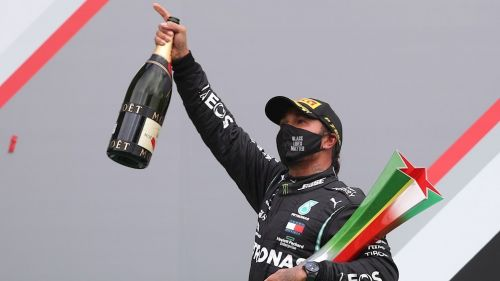 Hamilton se llevó el GP de Portugal