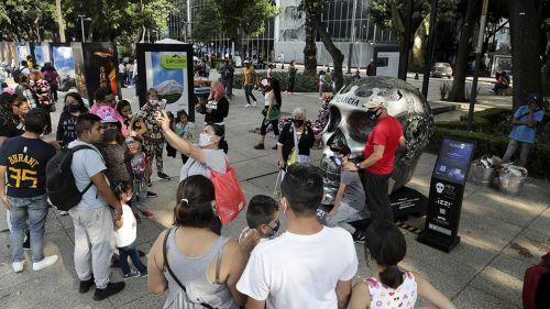 Así lucen las calles de México durante la pandemia de Covid-19