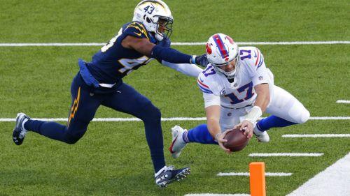 NFL: Bills, apoyado por su defensiva, derrotó a Chargers
