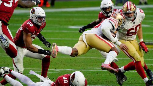 Acciones entre 49ers y Cardinals