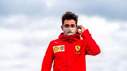 Charles Leclerc, piloto de Ferrari, dio positivo por Coronavirus