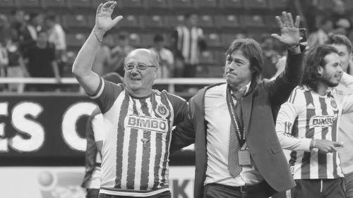 Matías Almeyda junto con su padre
