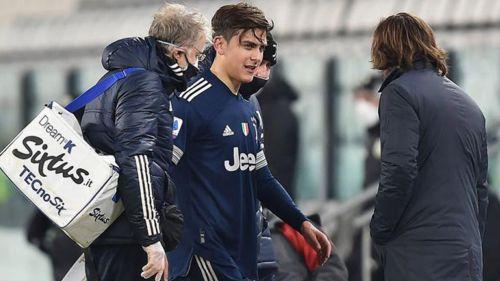 Paulo Dybala sale lesionado del duelo ante Sassuolo