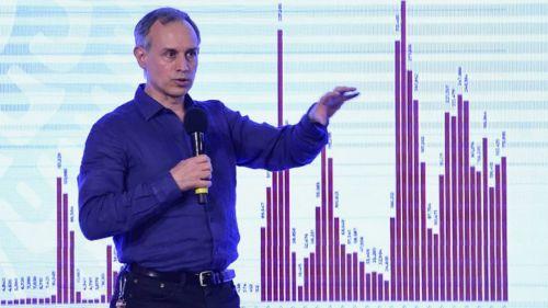 Hugo López Gatell en conferencia