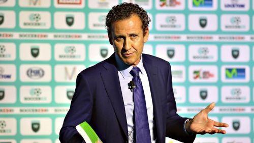Jorge Valdano durante un evento
