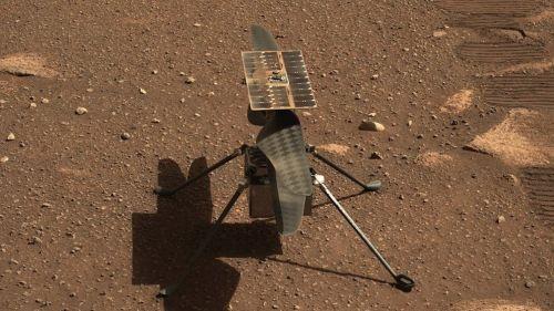 Ingenuity voló por primera vez en Marte