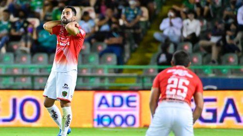 Jugadores de Juárez en derrota vs León