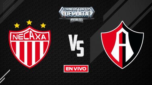 EN VIVO Y EN DIRECTO: Necaxa vs Atlas Liga MX Apertura 2021 J9