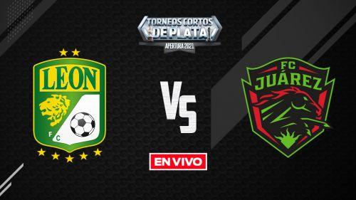 EN VIVO Y EN DIRECTO: León vs Juárez Liga MX Apertura 2021 J9