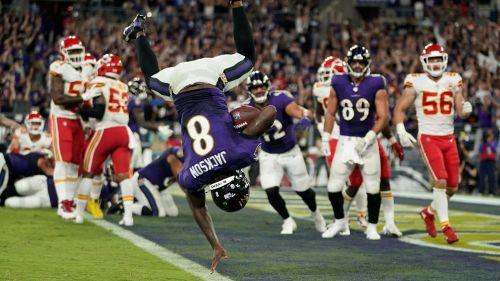 NFL: Baltimore consiguió emotivo e histórico triunfo ante Kansas City