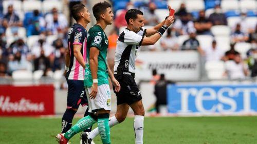 César Ramos en el Monterrey vs León