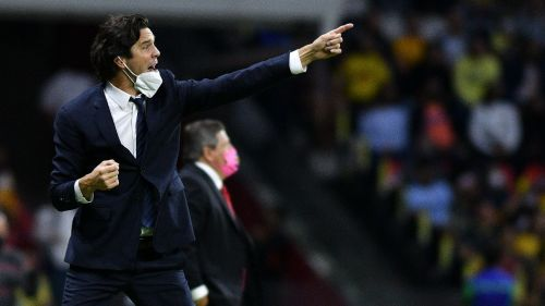 Santiago Solari en victoria vs Tigres