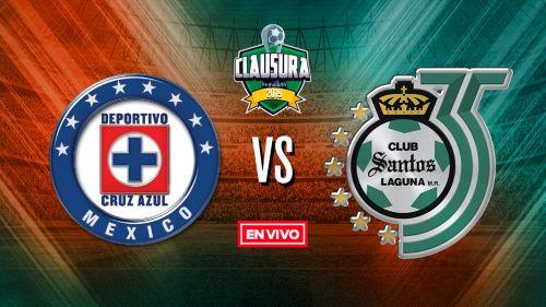 EN VIVO y EN DIRECTO: Cruz Azul vs Santos