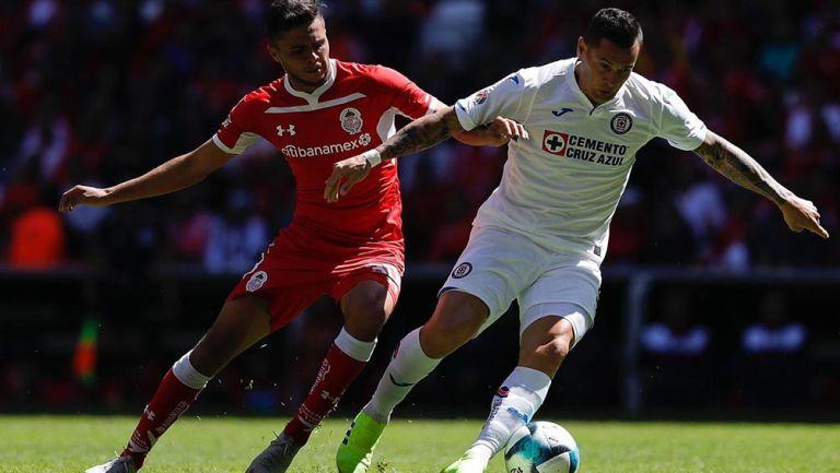 Toluca y Cruz Azul en disputa por lo tres punto de la Jornada 6
