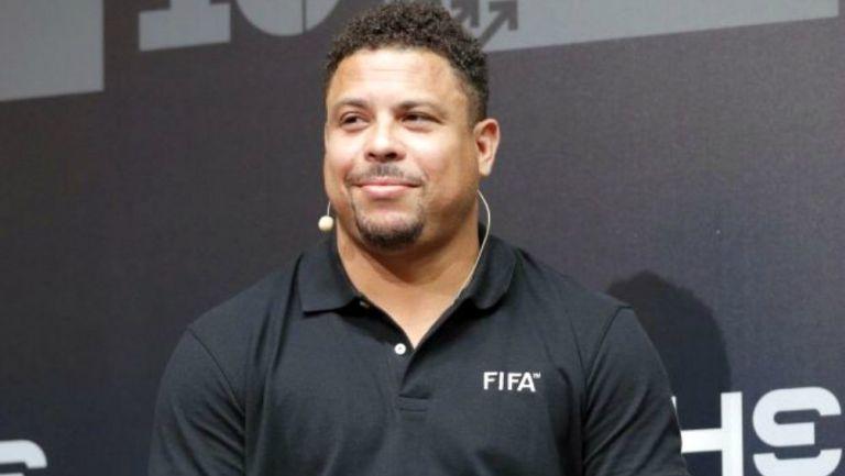 Ronaldo Nazário, exfutbolista brasileño