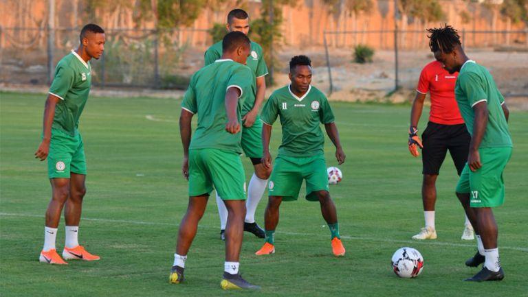 Madagascar durante un entrenamiento previo al duelo vs Túnez