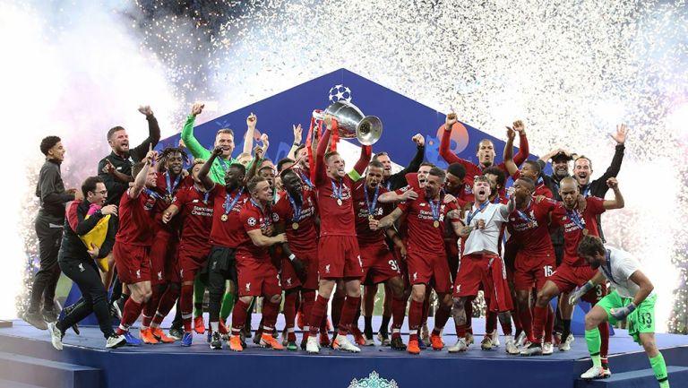 Liverpool, campeón de Champions League