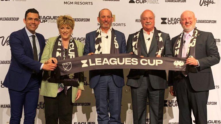 Los directivos de la MLS y de la Liga MX presentaron el calendario de partidos