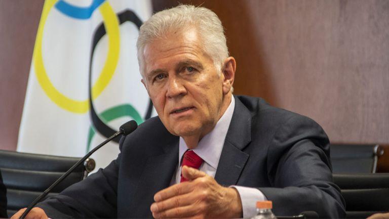 Carlos Padilla, durante una conferencia de prensa