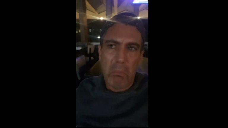Juan Carlos Gabriel de Anda en video donde responde a David Faitelson