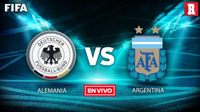 EN VIVO Y EN DIRECTO: Alemania vs Argentina