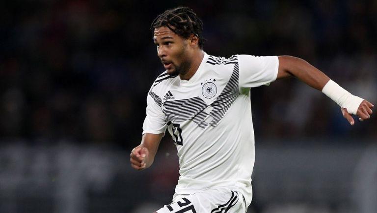 Serge Gnabry en el Alemania contra Argentina