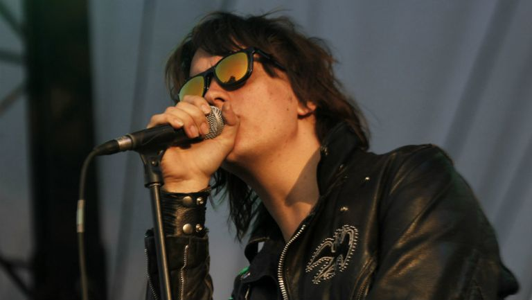 Julian Casablanca de The Strokes, que encabezan el cartel del Corona Capital